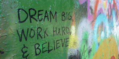 Dream Big web